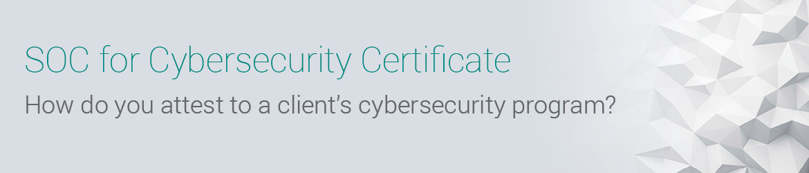 SOC for Cybersecurity | Cybersecurity Certificates